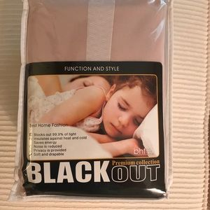 Other - NWT Blackout Curtains